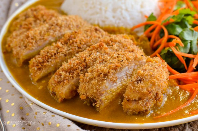 Low Syn Chicken Katsu Curry | Slimming Eats - Weight ...