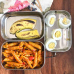 Lunch Box Recipes: Indian Style Pasta, Boiled Eggs & Banana …
