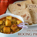 Lunch / Dinner Menu 15 – Chapati With Sprouted Moong …