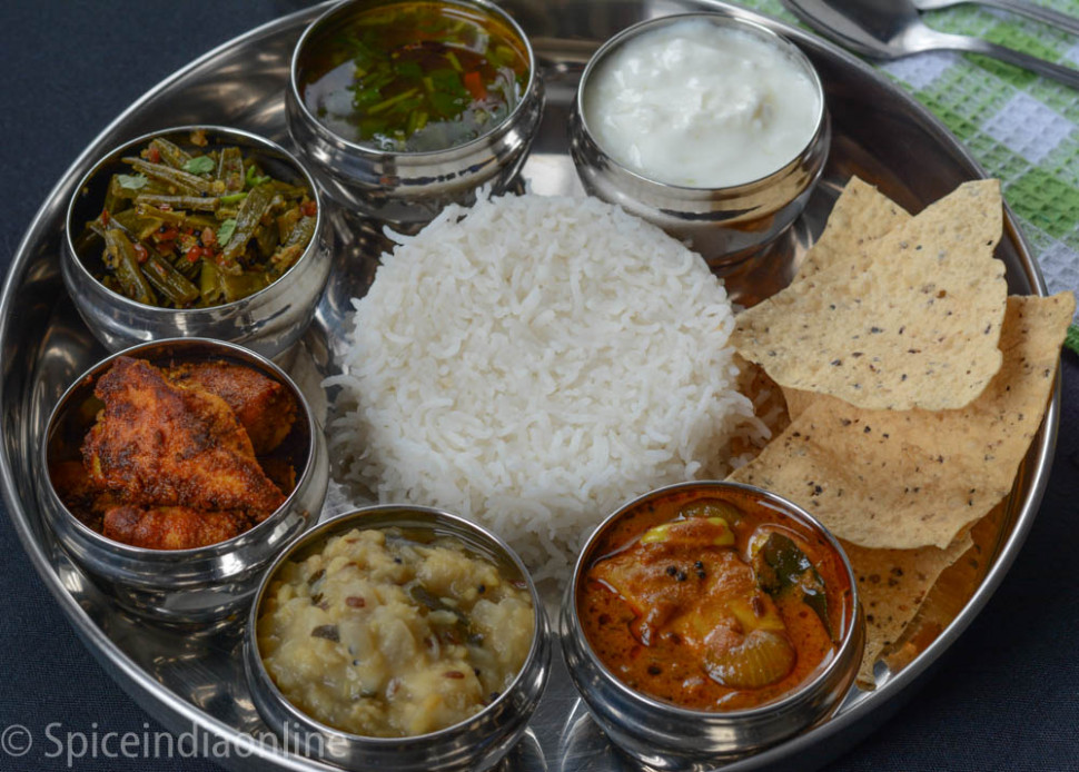 LUNCH / DINNER MENU 2 – SOUTH INDIAN NON VEGETARIAN LUNCH …