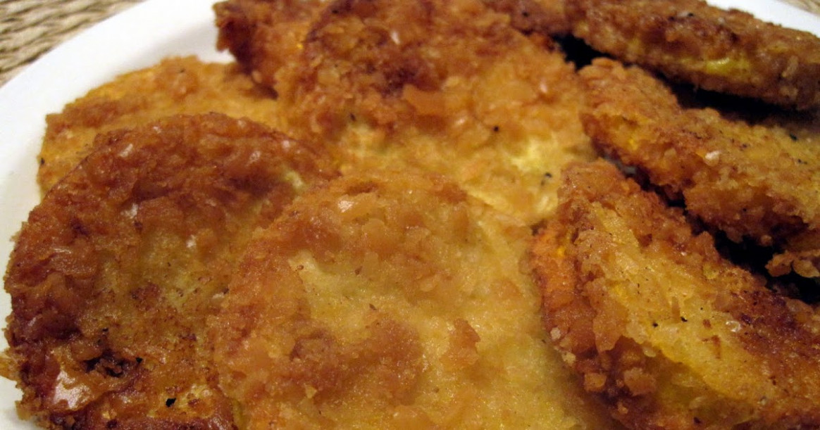 Lynda's Recipe Box: Fried Summer Squash ( My Weakness)