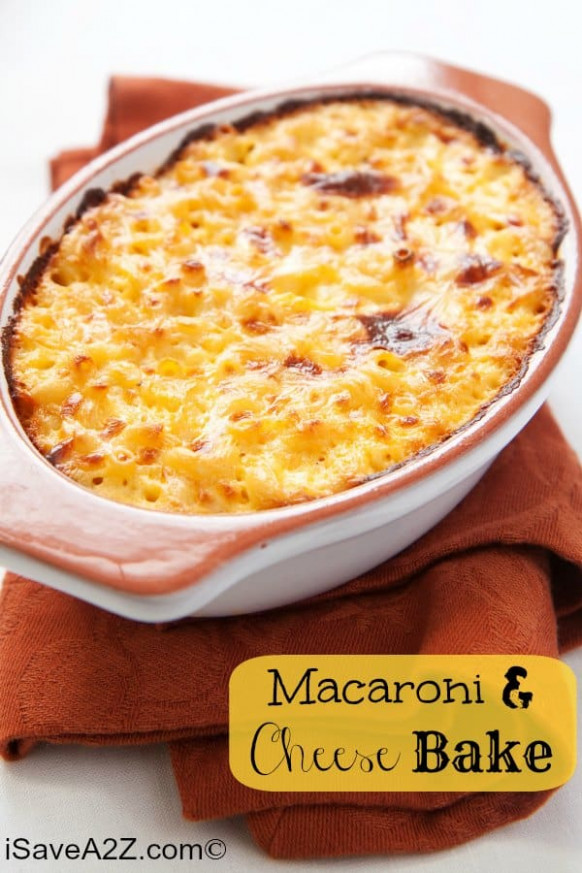 Macaroni And Cheese Bake Recipe! You Can Make It Yourself …