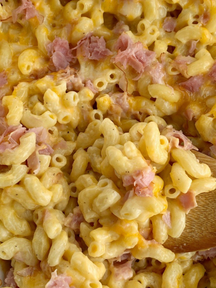 Macaroni & Cheese Ham Casserole – Together As Family