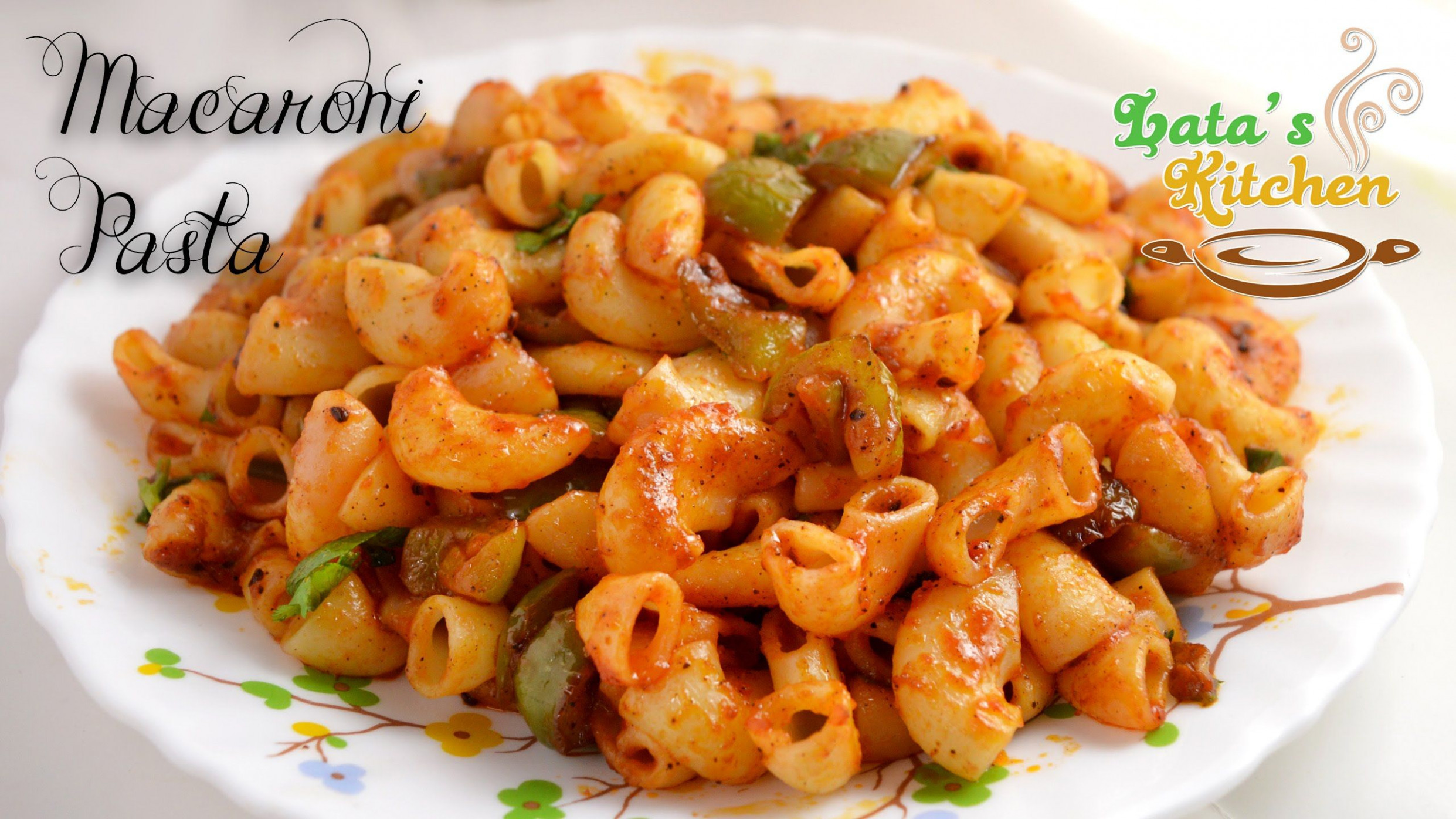 Macaroni Pasta Recipe - Indian Style Macaroni Pasta Recipe ...