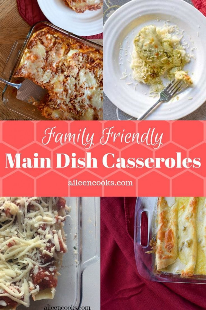 Main Dish Casserole Recipes – Aileen Cooks