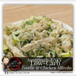Make A Low Carb Delicious Zoodle & Chicken Alfredo One …