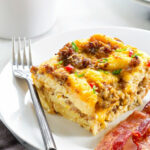 Make Ahead Breakfast Casserole – My Baking Addiction