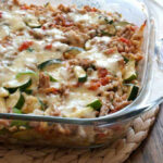 Make Ahead Cheesy Zucchini And Turkey Casserole (gluten Free)
