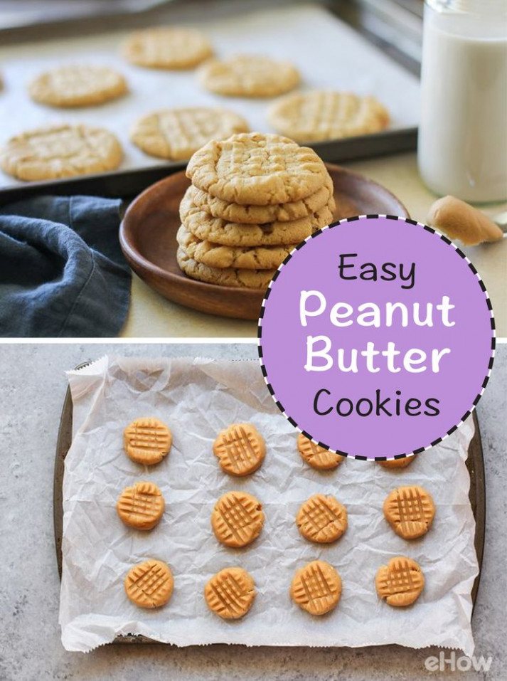 Make Peanut Butter Cookies From Scratch With This Easy ...