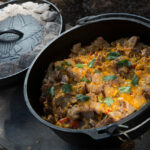 Make This Dutch Oven Southwestern Breakfast Casserole