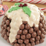 Maltesers Christmas Pudding Cake
