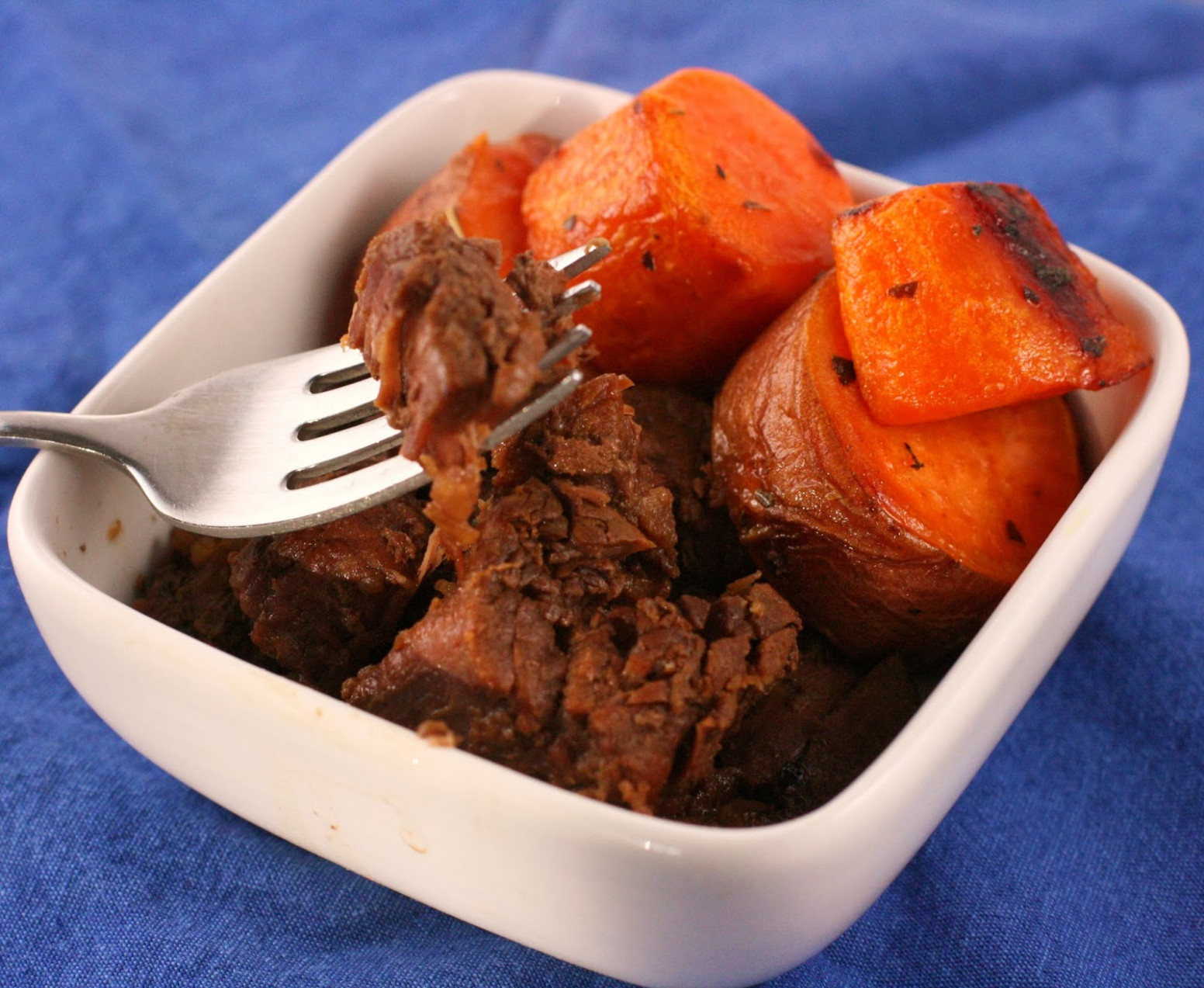 Maple Barbecue Beef Slow Cooker Recipe - A Year of Slow ...