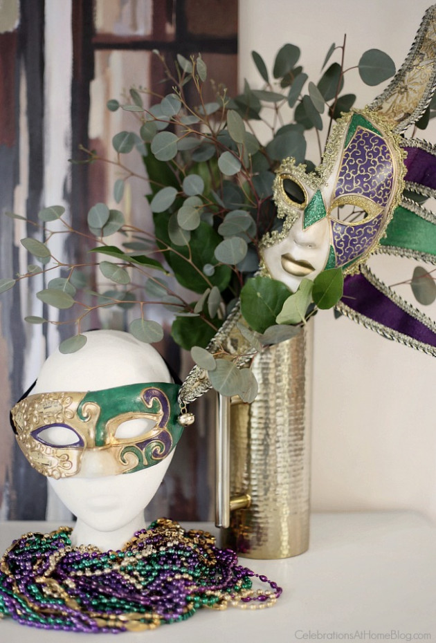 Mardi Gras Party - Celebrations at Home