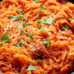 Marinara Spaghetti Squash Recipe | She Wears Many Hats