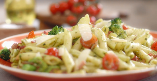 Mary Berry express bacon and pesto pasta recipe on Mary ...