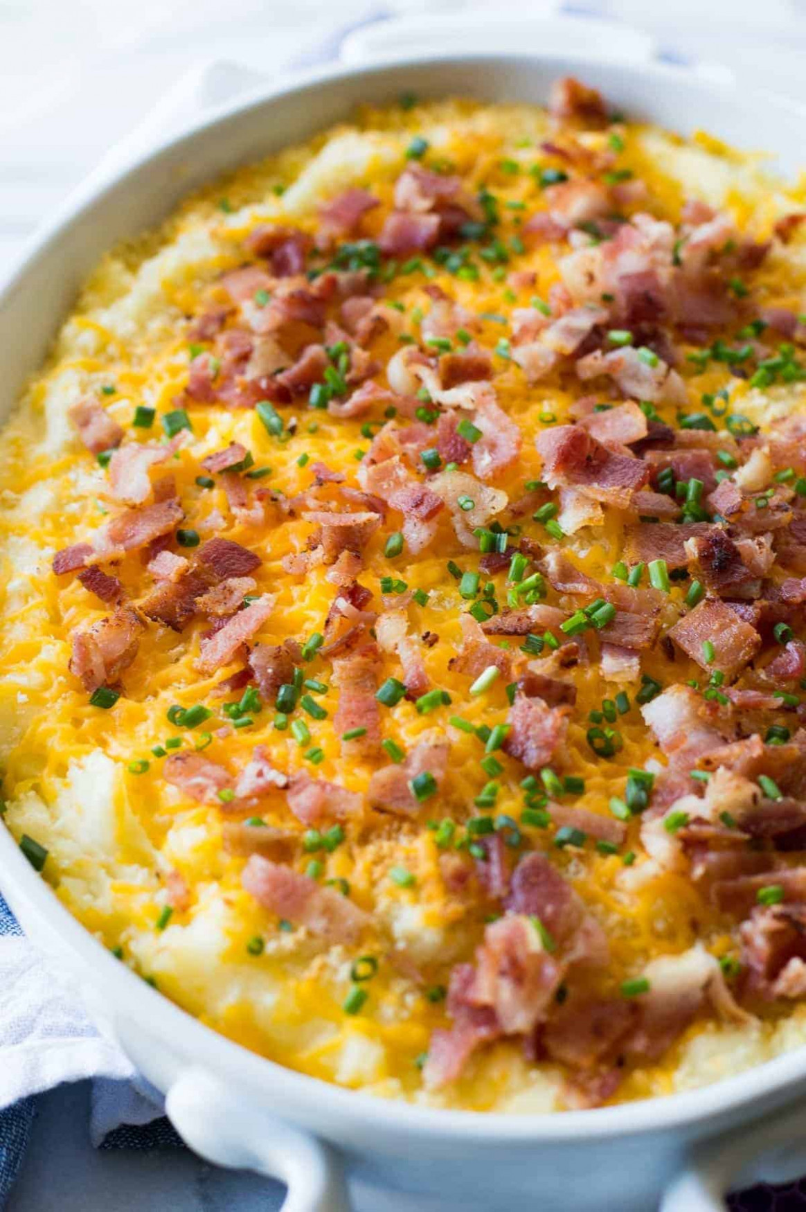 Mashed Potato Casserole - House of Yumm