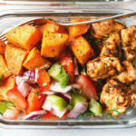 Meal Prep – Roasted Chicken And Sweet Potato