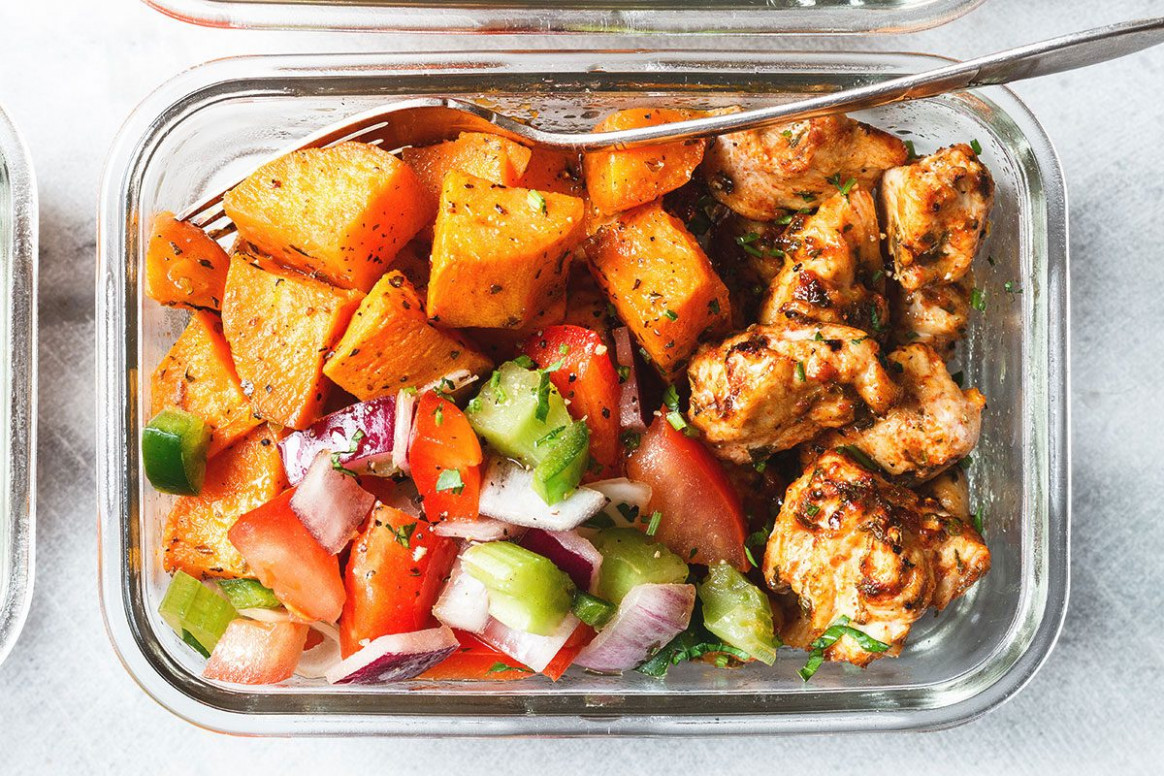 Meal Prep - Roasted Chicken and Sweet Potato