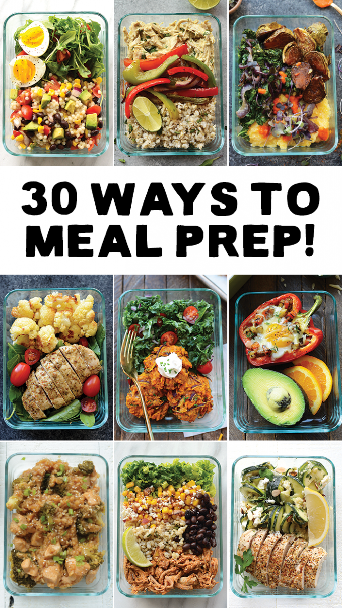 Meal Prep your way in to 2017 with 30 different ways to ...