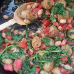 Mediterranean Style Beans And Greens Recipe