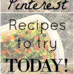 Menu Monday | New Pinterest Recipes You Have To Try! | Cup …