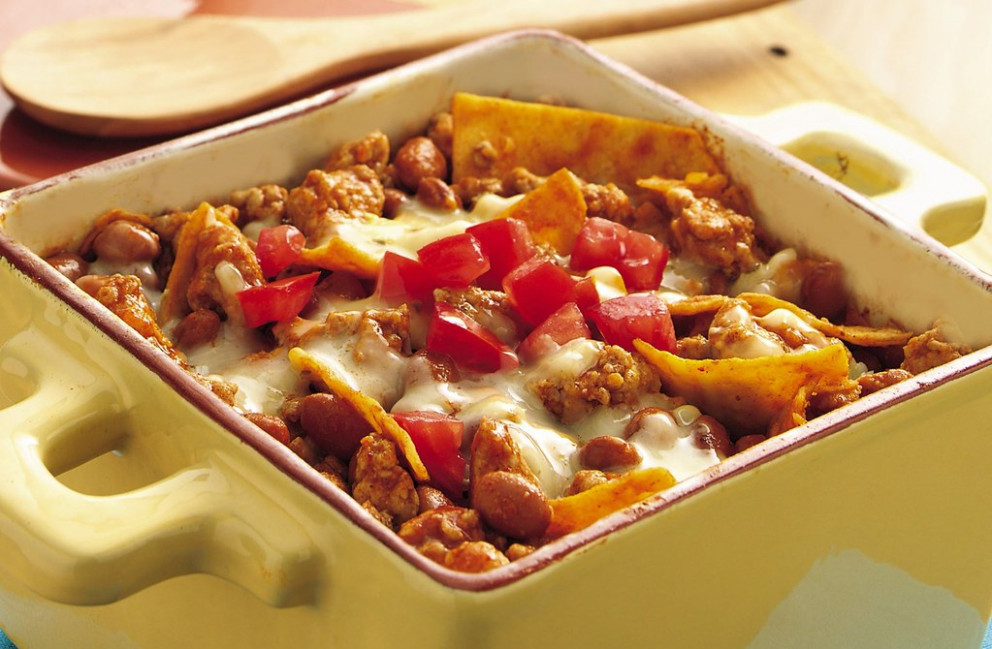 Mexican Pork And Beans Casserole Recipe