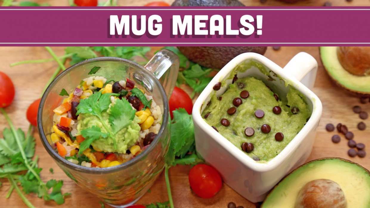 Microwave Mug Meals! VEGAN! – Collab with LoveHealthOk! Mind Over Munch