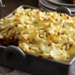Minced Beef Pie With Macaroni And Cheese | RecipesPlus