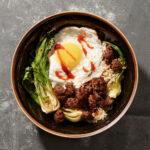 Minced Beef With Bok Choy And Fried Egg Recipe | MyRecipes