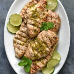 Mint Lime Grilled Chicken Breasts Recipe | She Wears Many Hats