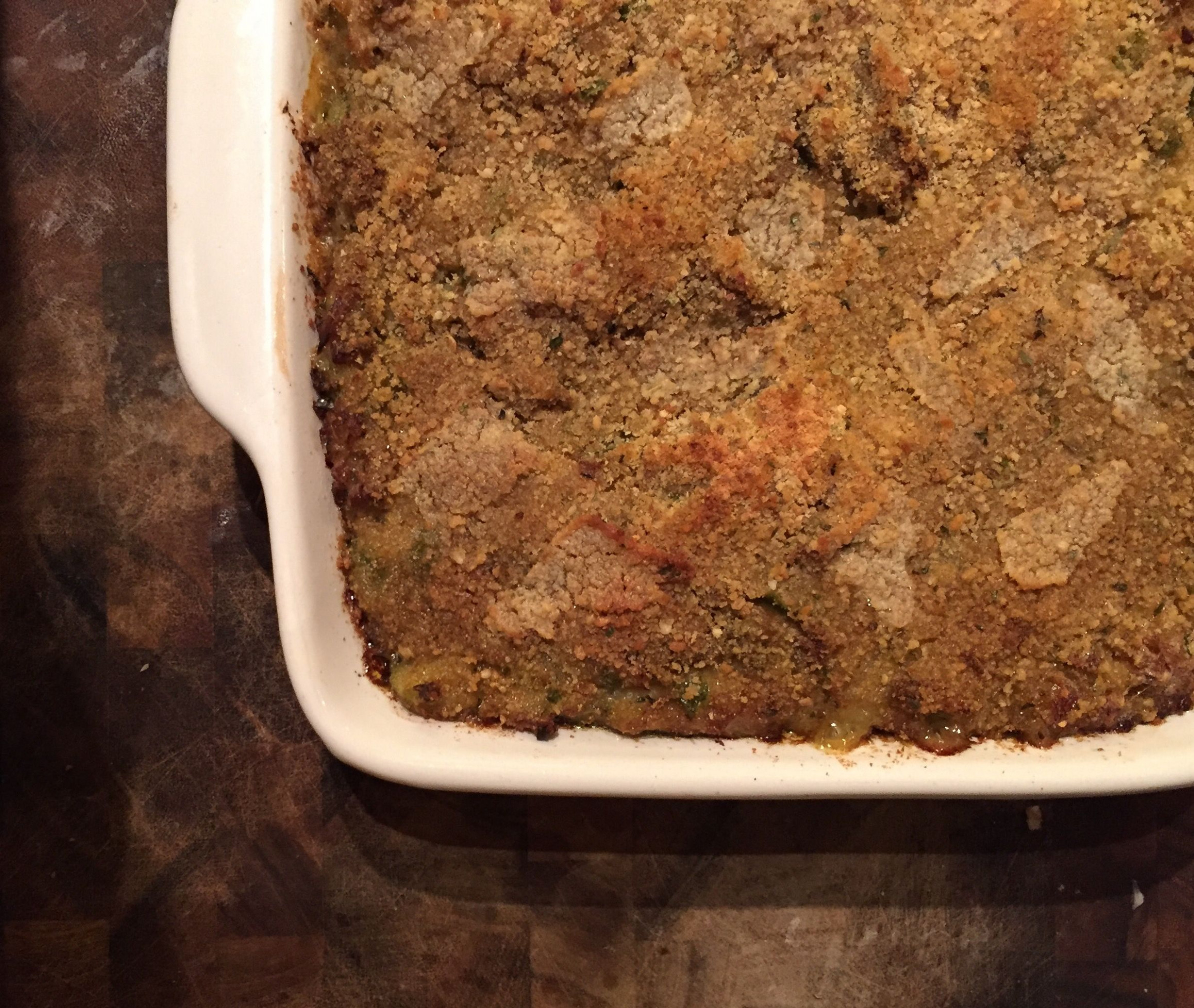 Mirliton Seafood Casserole | Thanksgiving | Seafood ...