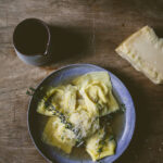 Miso Squash Ravioli In A Mushroom Broth + Kitchenaid …