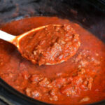Mom's Crockpot Spaghetti Sauce – Layers Of Happiness