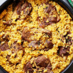 Mom's One Pot Oven Baked Risotto With Lamb Chops | Recipe …