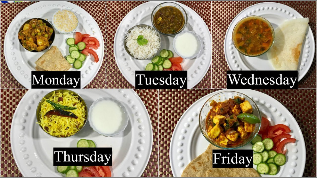 Monday To Friday Easy Indian Dinner Recipes Under 1111 Minutes Part 11 |  Simple Living Wise Thinking