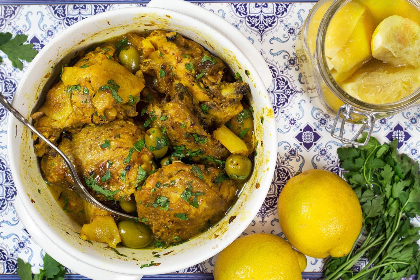 Moroccan Tagine Recipe — Dishmaps