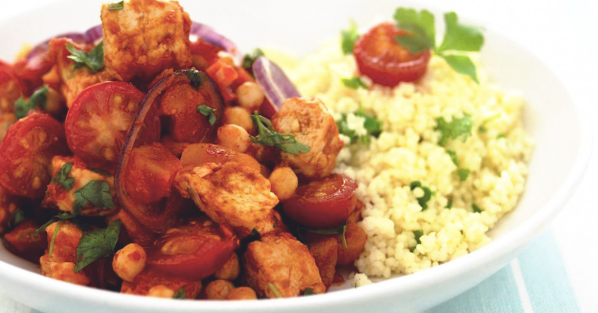 Moroccan Tagine Recipe with Quorn Pieces | Quorn