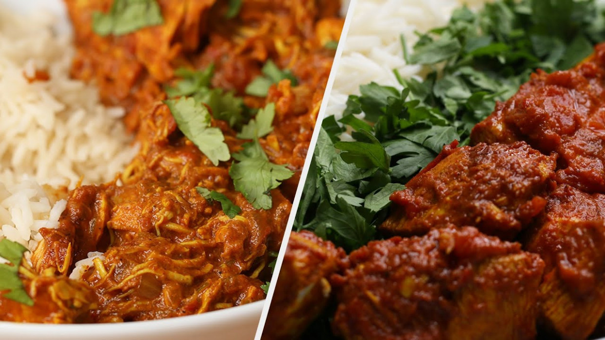 Mouth-Watering Indian Food Recipes • Tasty - Healthy Treats