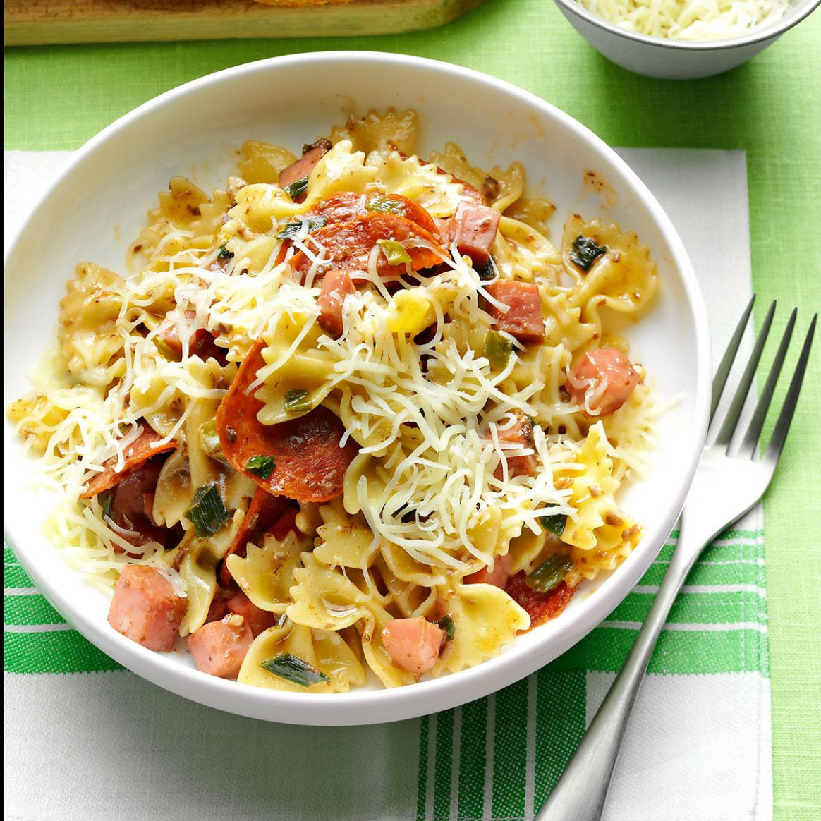 Muffuletta Pasta Recipe | Taste of Home