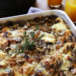 Mushroom Breakfast Casserole Recipe | Kitchen Explorers …