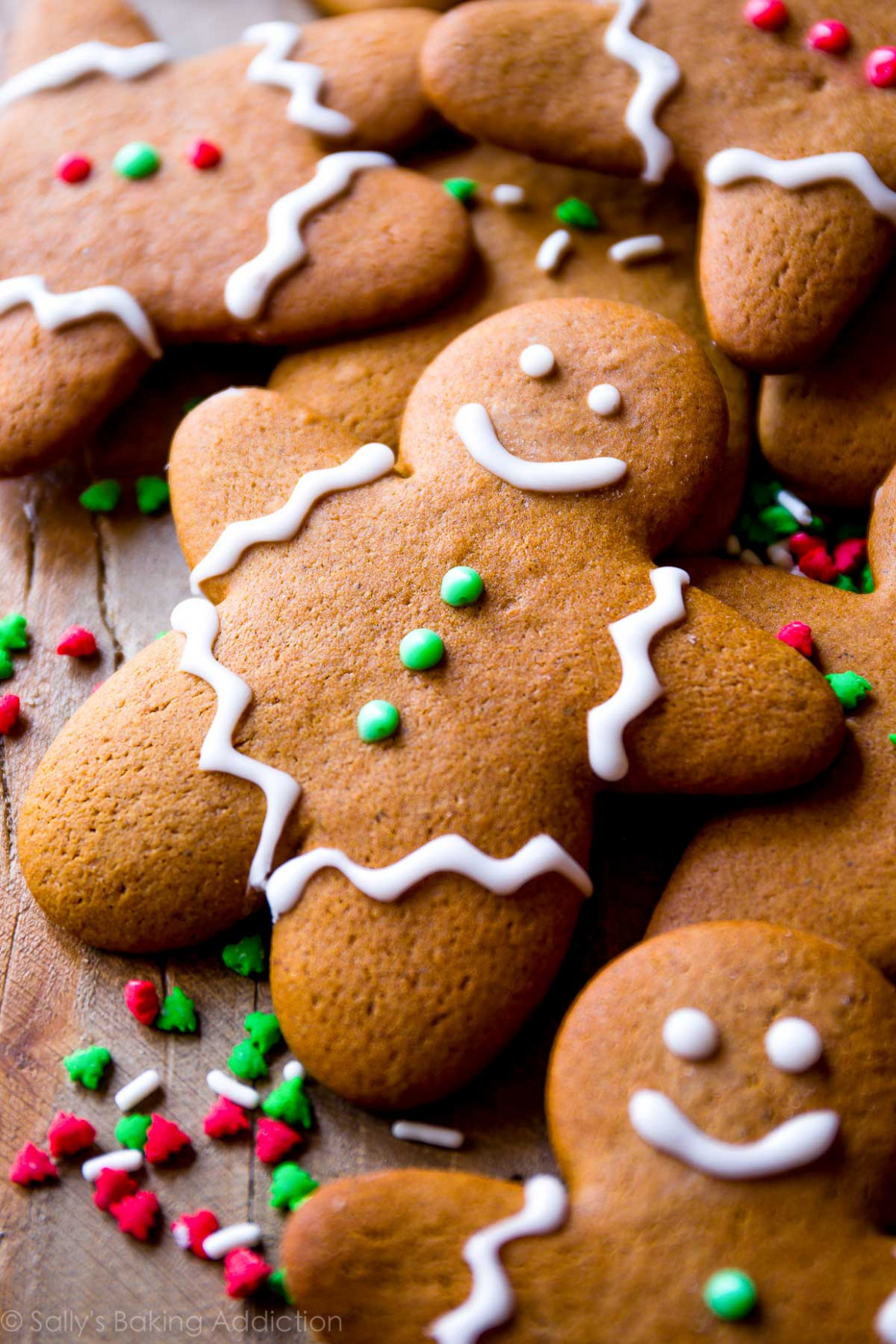 My Favorite Gingerbread Men Recipe - Sallys Baking Addiction
