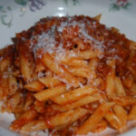 My Italian Grandmother: Penne With Sausage And Beef Ragu