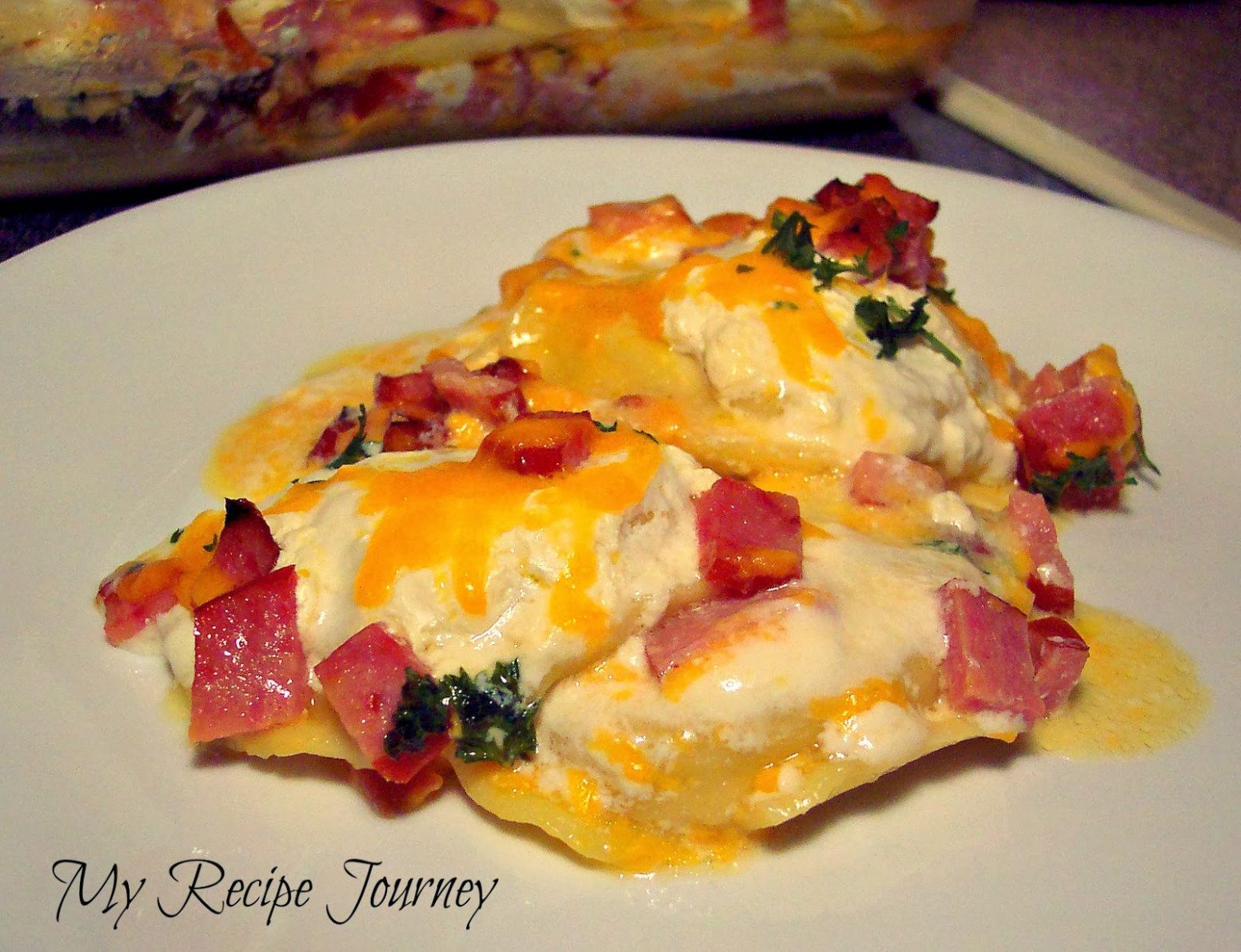 My Recipe Journey: Pierogi Kielbasa Casserole