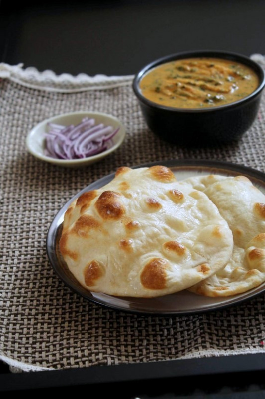 Naan Recipe (How to make naan recipe on stove top and oven)