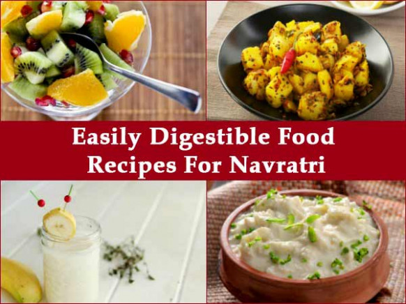 Navratri Special: Foods That Are Easy On Your Stomach ...