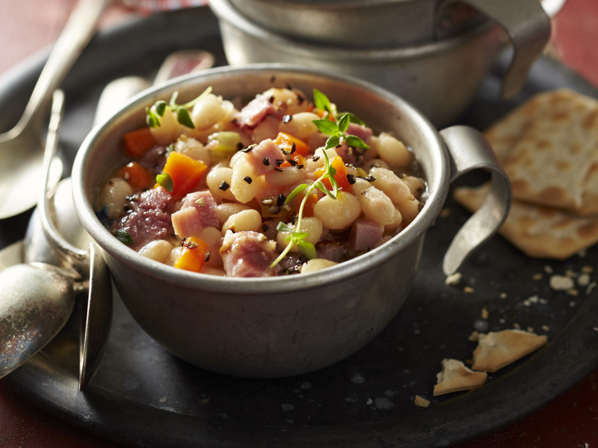 Navy Bean and Ham Soup Recipe - Southern Living