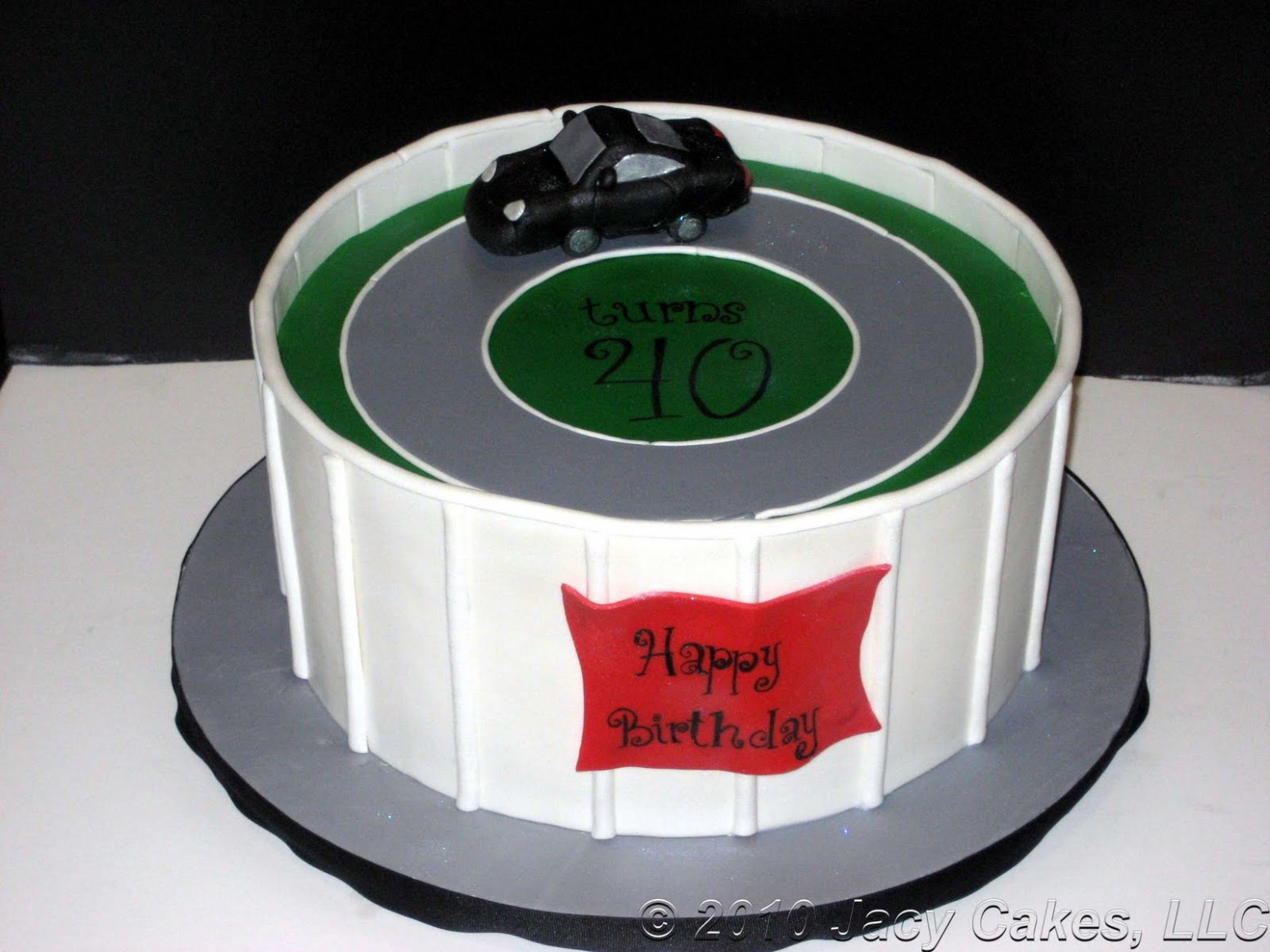 News from Jacy Cakes: Porsche Cayman Birthday