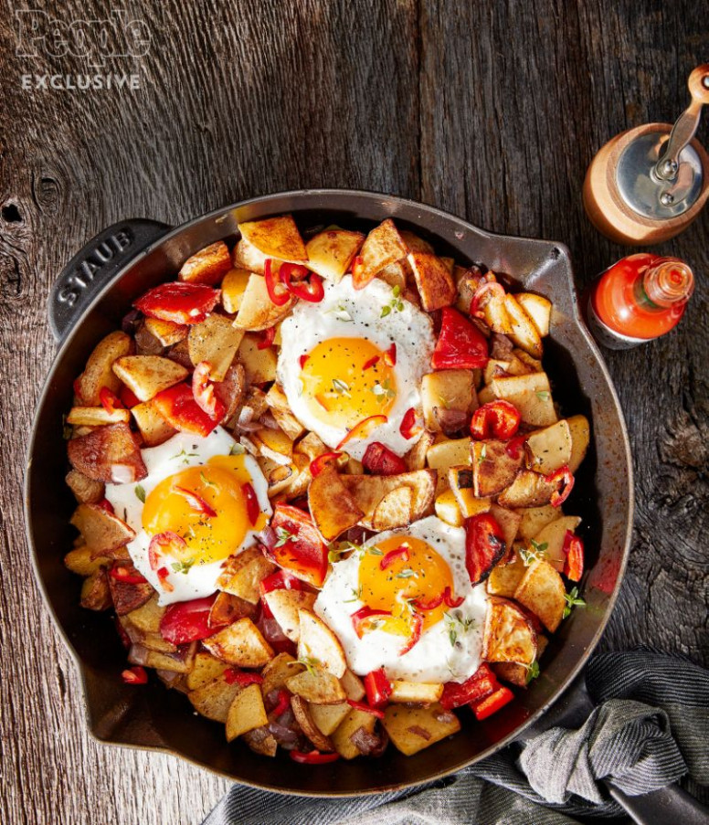 Nigella Lawsons Baked Egg & Potato Hash Recipe