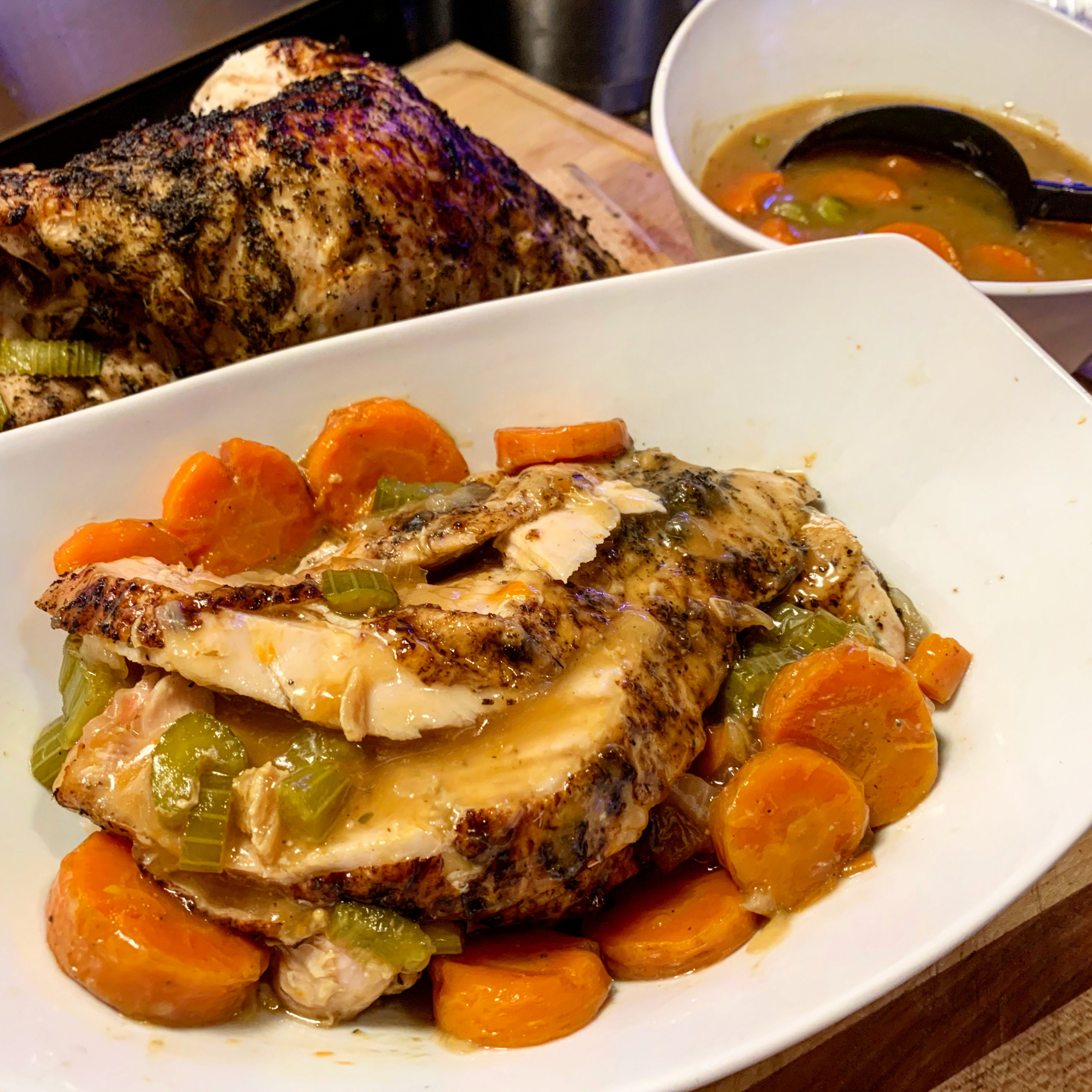 Ninja Foodi or Instant Pot Turkey Breast + Gravy | Pressure ...