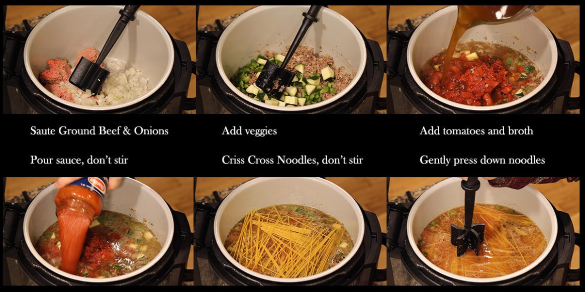 Ninja Foodi Spaghetti Recipe ~ The Salted Pepper